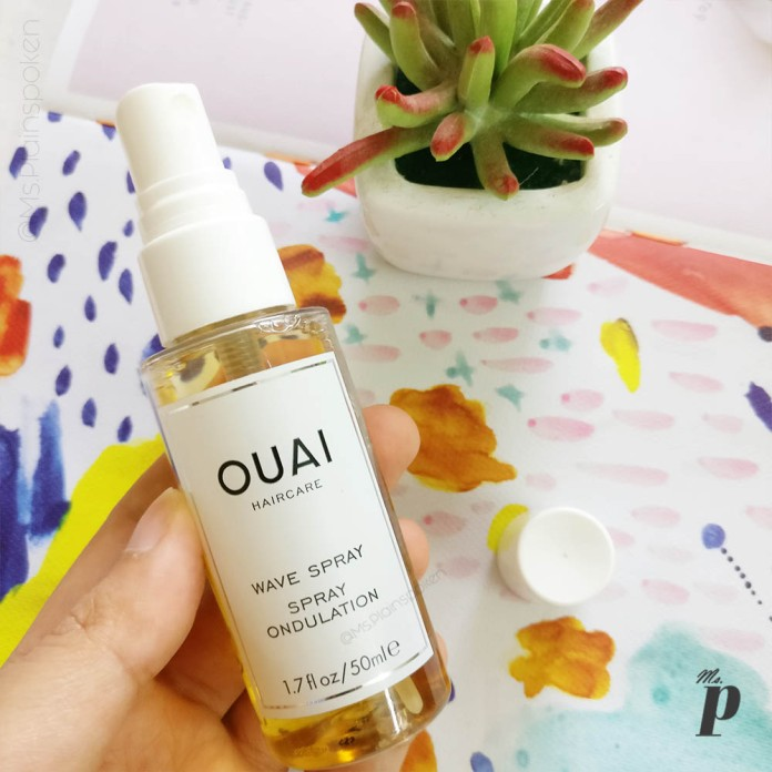 Ouai Wave Spray Review_ Packaging branding review