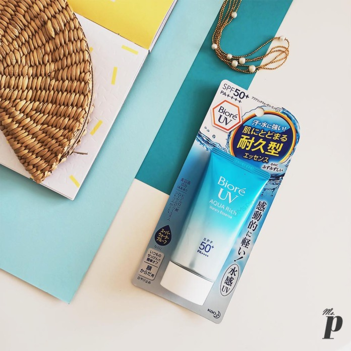 Bioré: UV Aqua Rich Watery Essence Sunscreen | Packaging with Claims, Direction & Ingredients