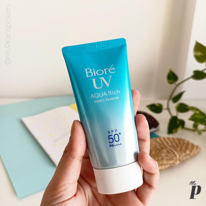 kao-biore-uv-aqua-rich-watery-essence-sunscreen-spf50-pa-review - packahing