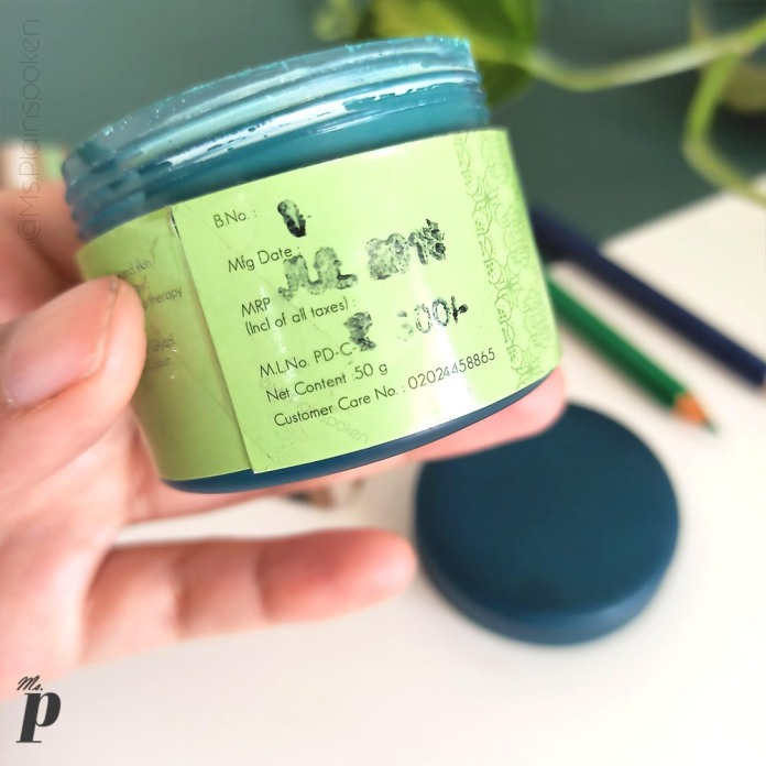 Indrani Cosmetics India_ Seagreen Spa Facial Pack Review (12)
